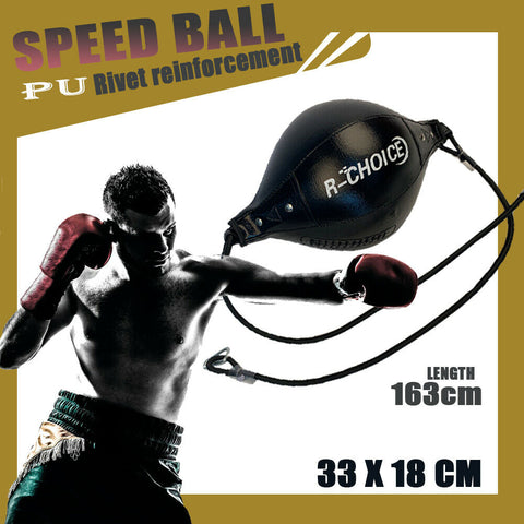 SPEED BALL FLOOR TO CEILING DOUBLE END BALL BOXING BAG PUNCHING DODGE PUNCH MMA