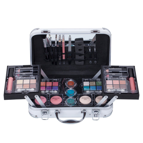AUS Makeup Kit Cosmetic Set Girls Eyeshadow Palette Blusher Lipstick Beauty Case