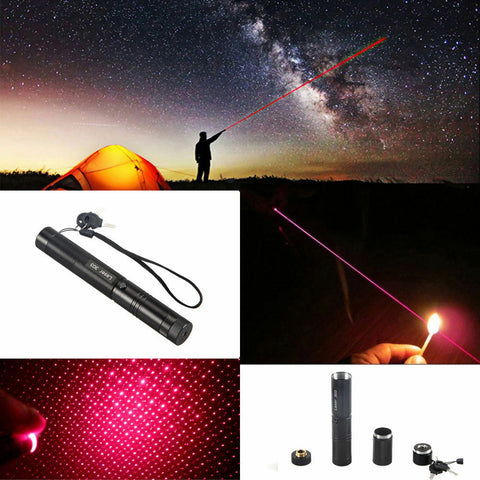 Military Grade High Power RED Laser Pointer Pen