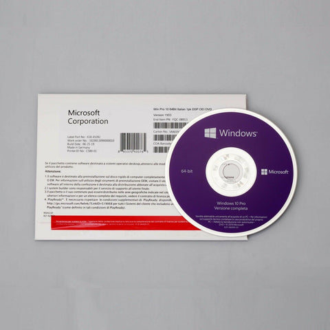 [physical product] Microsoft Windows10 PRO OEM 64 Bit DVD Full Version