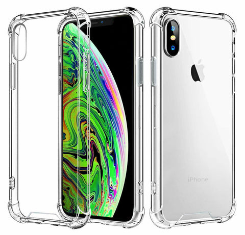 Clear Shockproof Case Cover For Apple iPhone XS XR XS MAX
