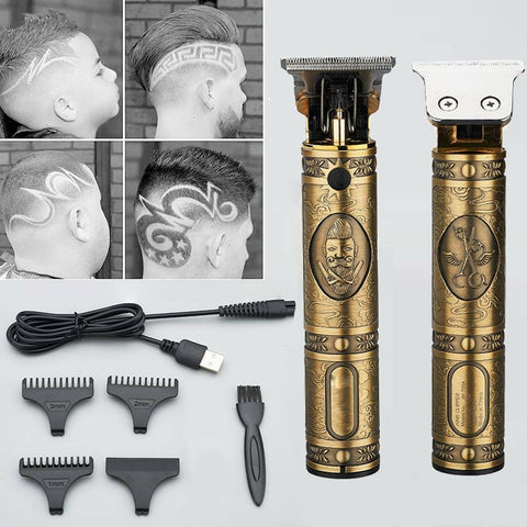 Men's Professional Electric Hair Trimmer Clippers Beard Shaver Cutting Cordless