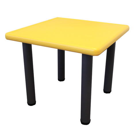 Kids Toddler Table with Adjustable Height - Yellow