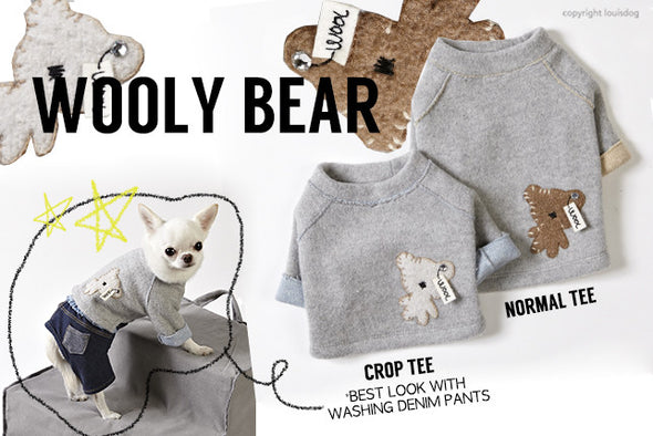 LE WOOLY by Louisdog <br> sweatshirt super chaud