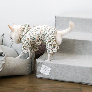 LES ESCALIERS COTON by Louisdog <br> Collection Printemps 2019 <br> 2 tailles en gris.