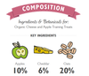 TRAINING TREATS / CHEESE & APPLE <br> Lily's Kitchen