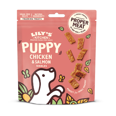 PUPPY POULET / SAUMON <br> Lily's Kitchen <br> New !