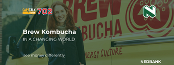 Brew Kombucha is a 2020 finalist for the Nedbank Business Ignite Challenge