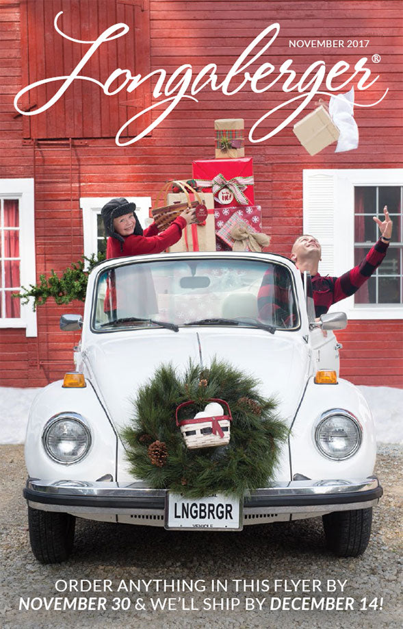 Longaberger November Flyer - Holly Jolly Shopping!