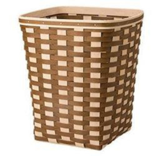 Longaberger Simple Living Medium Square Waste Basket - Vintage