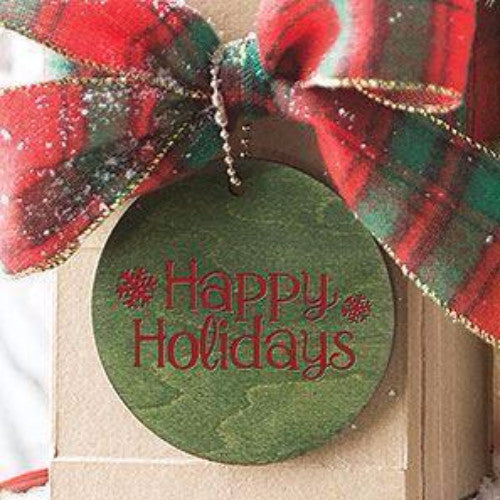 Longaberger WoodCrafts,Christmas Expressions - Happy Holidays!