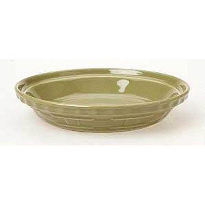Longaberger  Woven Traditions Grandma Bonnie's Pie Plate  - Sage