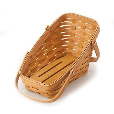 Longaberger Medium Vegetable Basket -  Warm Brown  **NEW**