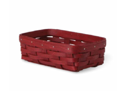 Longaberger 2015 Extra Small Server Basket - Bold Red