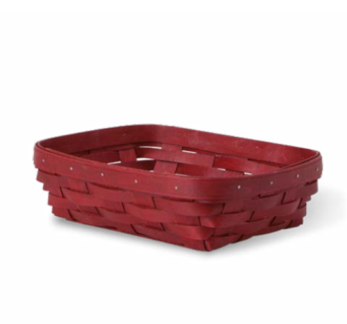 Longaberger 2015 Small Server Basket - Bold Red