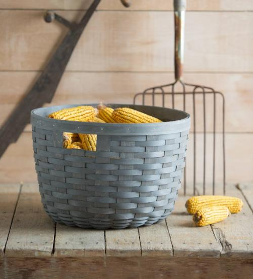 Longaberger Corn Basket - Warm Brown