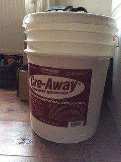 Professional Cre-Away creosote and tar removal