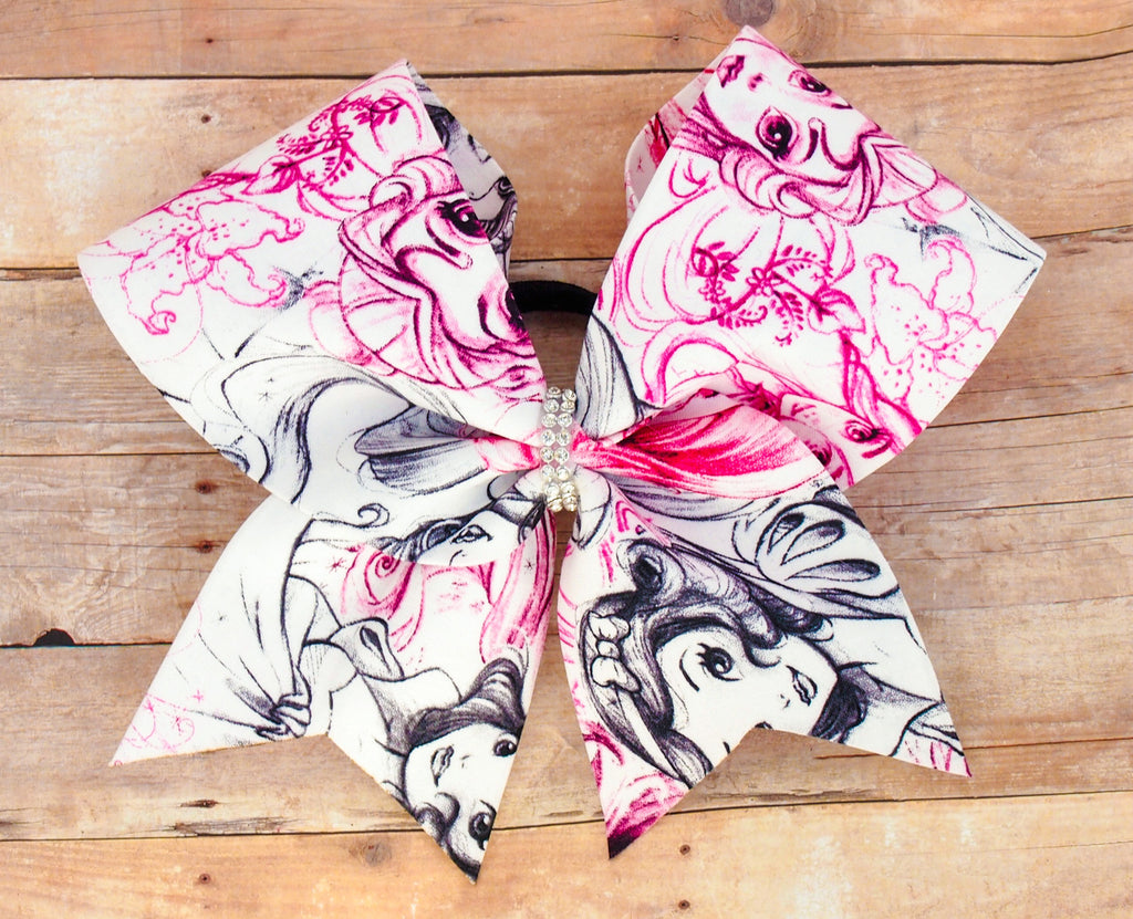 Disney Princess Cheer Bow
