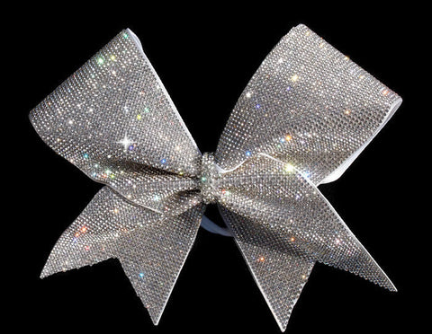 Full Rhinestone cheer bow
