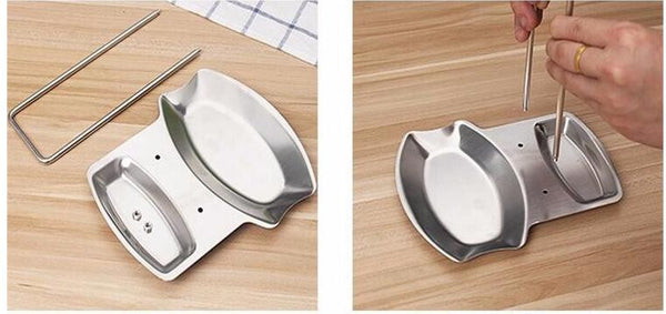 Stainless Steel Kitchen Organizer