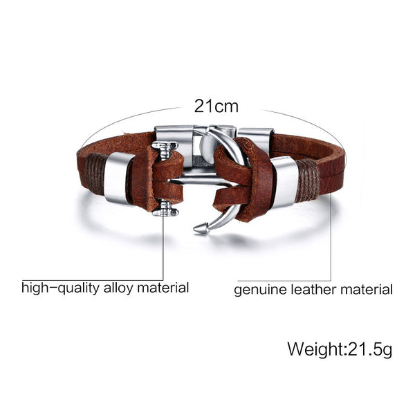 Biràtto Leather Bracelet
