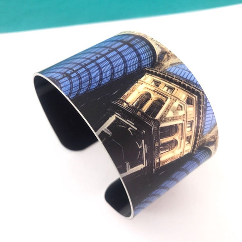 Aluminium Printed 'Naples' Bangle