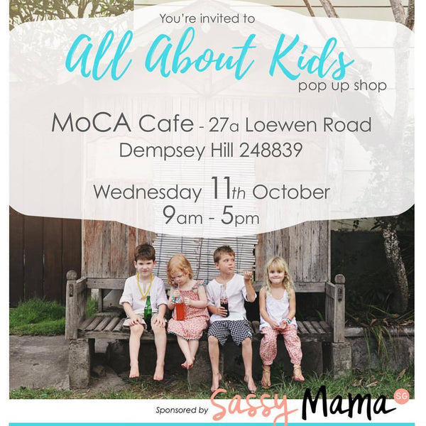 [Event] All About Kids Pop Up at MOCA Cafe