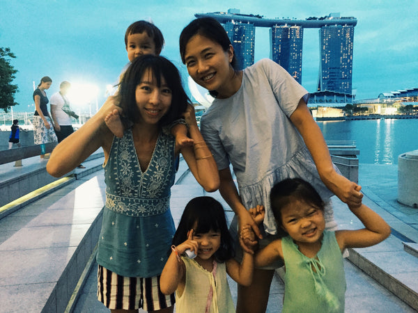 How to become a Singapore tour guide for a mum with a baby