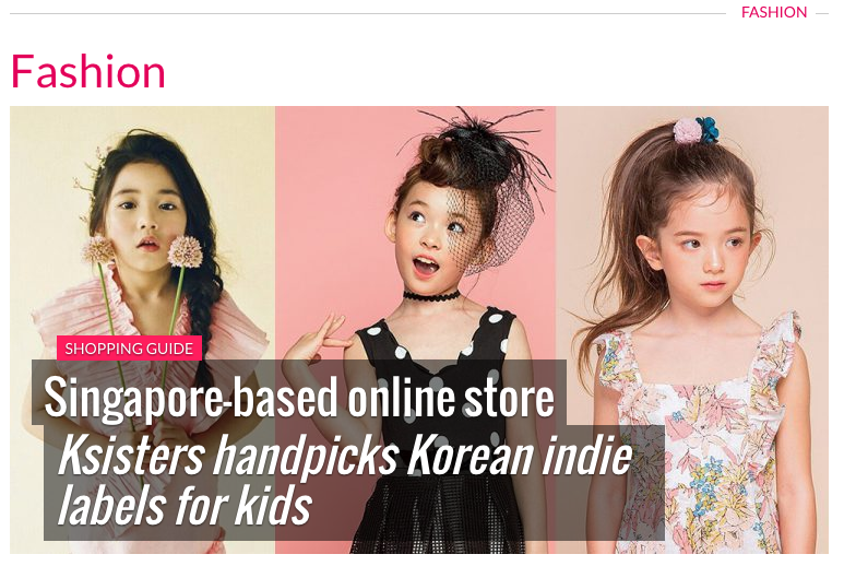 [Magazine] Ksisters was introduced as hottest online store in Marie France Asia