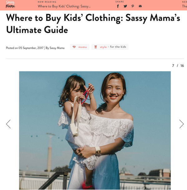 [MEDIA] Where to Buy Kids' Clothing: Sassy Mama's Ultimate Guide