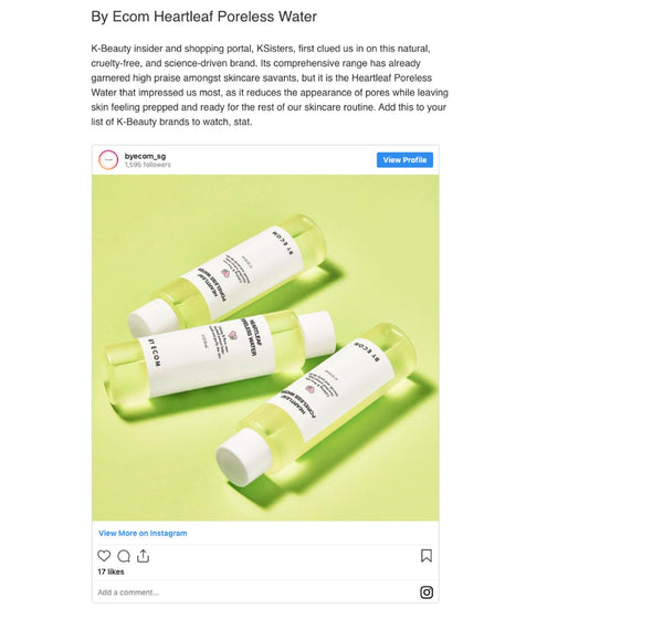 [MEDIA] Best skincare products in November by Buro Singapore
