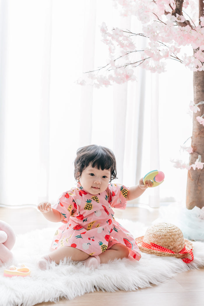 Kbaby Fruit Yukata (Pink/ Blue)