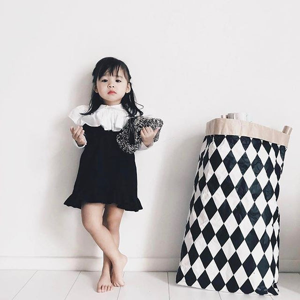 [2nd restock] Twirly Swirly Kiss Dress Black