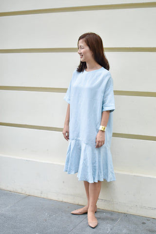 Coco Candy Dress Pastel Blue