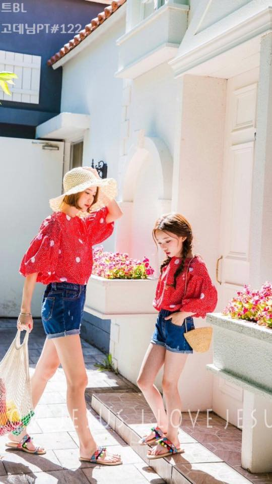 [2nd Restock] Puff Sleeve Top Red