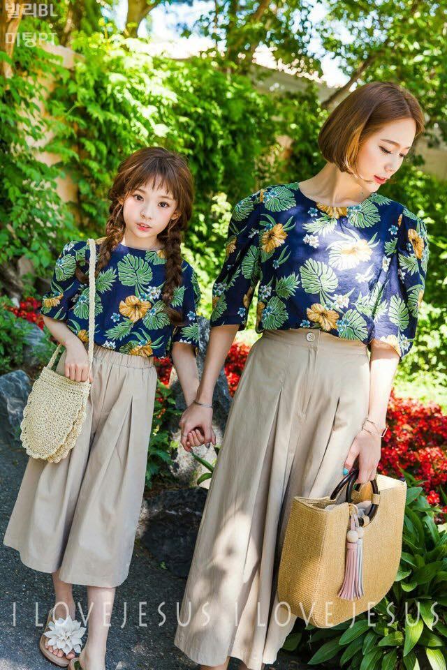 Bali Blouse + Wide Fit Pants Girl