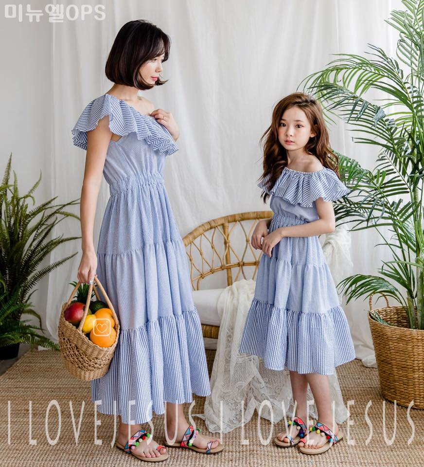 Sailing Stripe Dress (Girl)