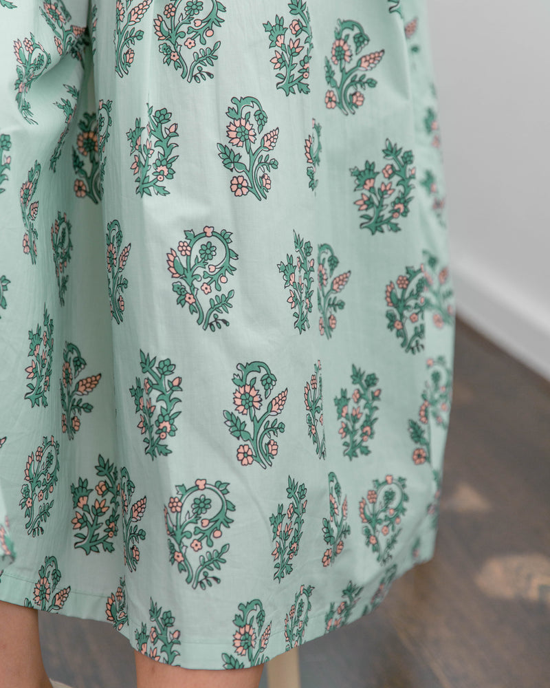 Mimiciel Mint Floral Dress