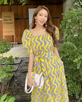 Pink Secret Twinning Dress (Yellow)