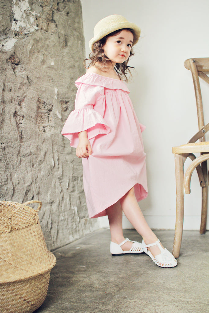 [2nd Restock] Linen Dress Hot Pink