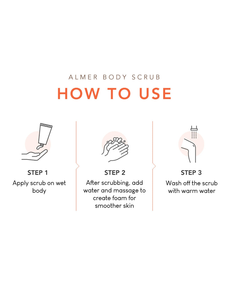 Almer Body Scrub