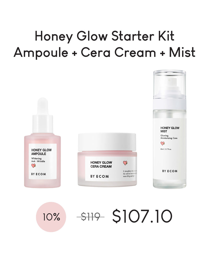 [PROMO] BY ECOM Honey Glow Starter Kit