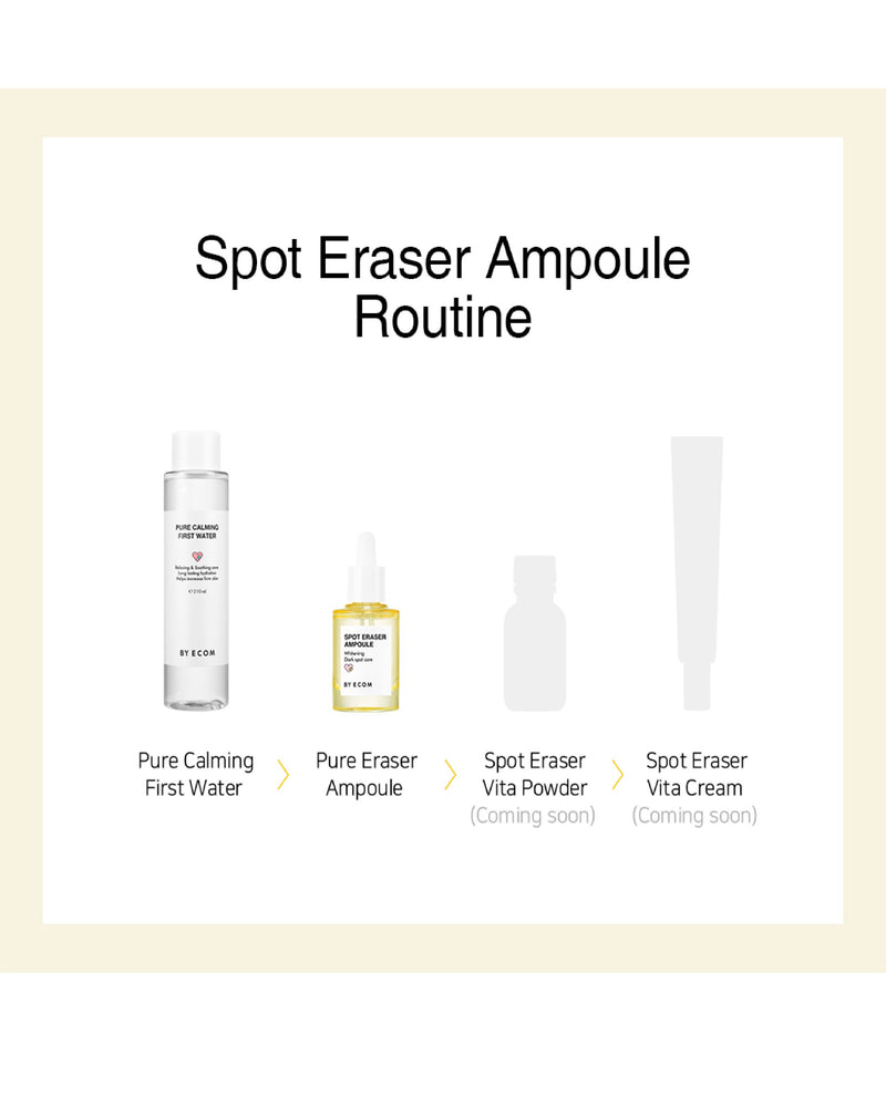 [PREORDER] BY ECOM Spot Eraser Ampoule