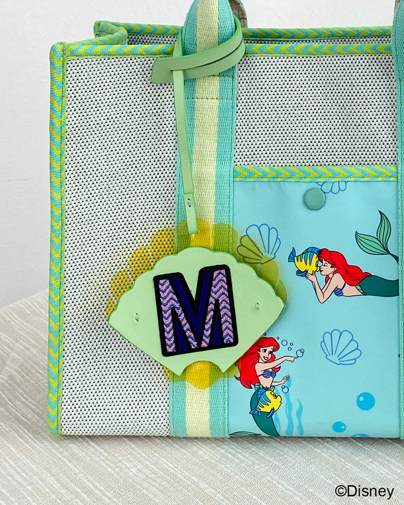 [PREORDER] Disney's The Little Mermaid Bag / Bag Charm / Alphabet Patch by Ksisters