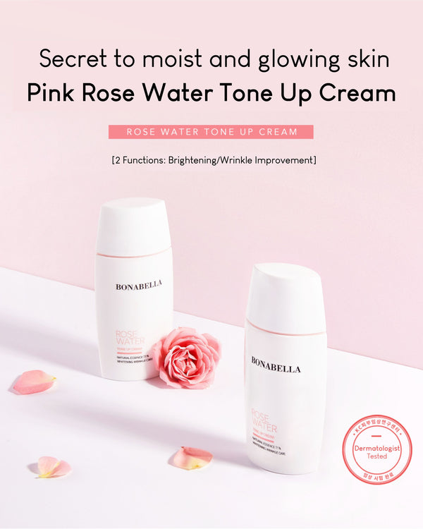 [PROMO] Bonabella Rose Water Tone Up Cream