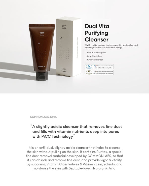 COMMONLABS Dual Vita Purifying Cleanser