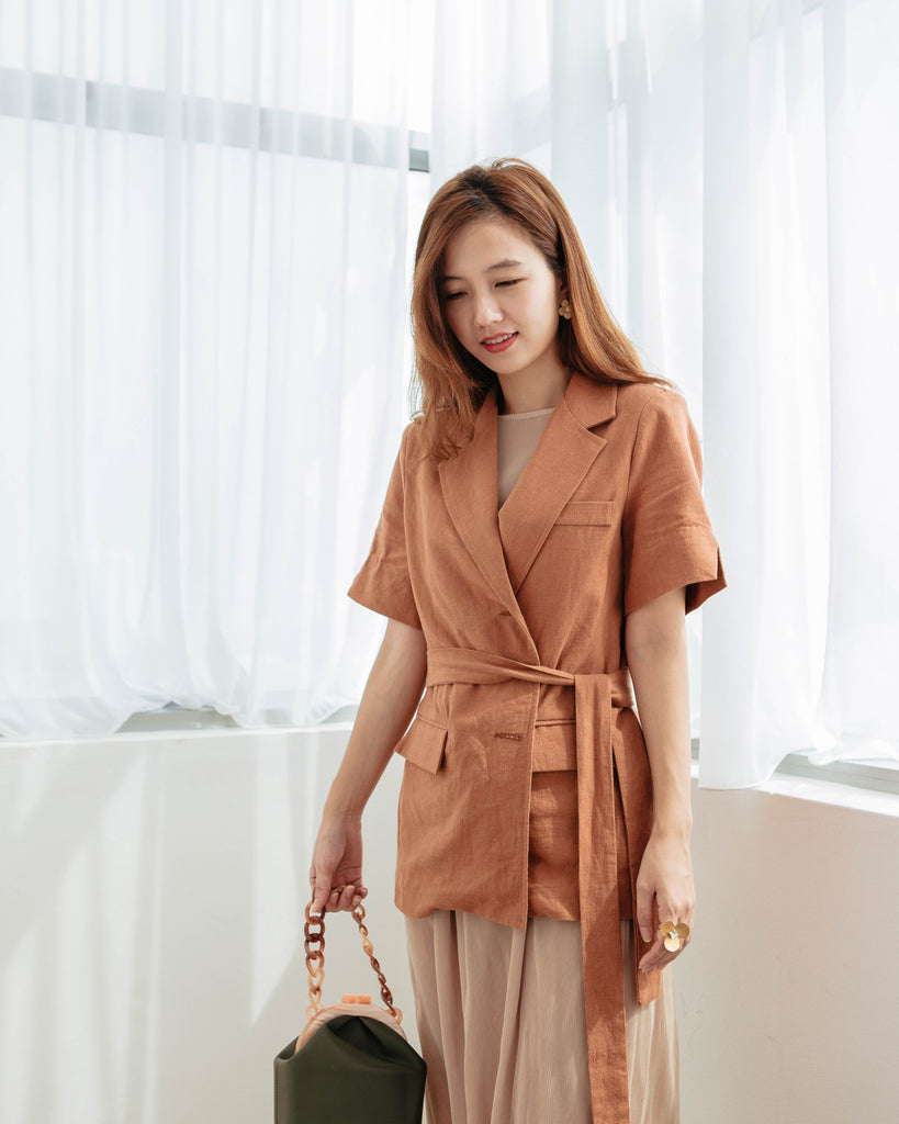 [Preorder] Brown Blazer