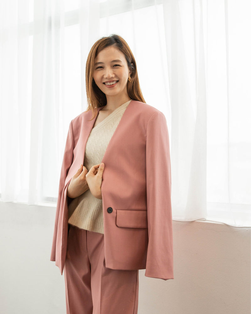Pink Power Suit