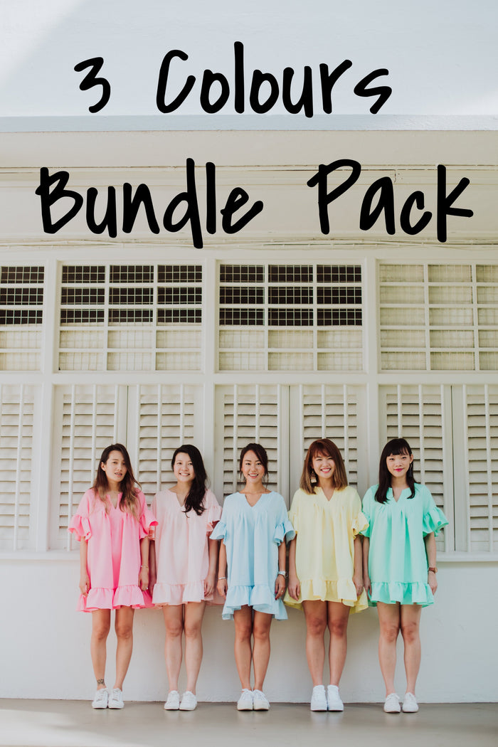 [PREORDER] Tunic Top Paddle Pop 3 Bundle Pack
