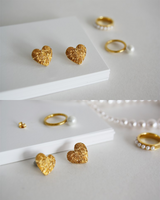 W.SEN Hakuna Matata Heart Earrings